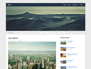 Meeta - Tema WordPress